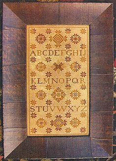 Quaker Study - Cross Stitch Pattern