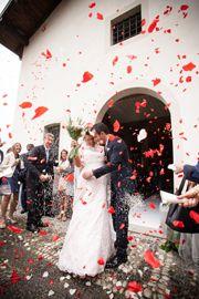 lancio petali matrimonio