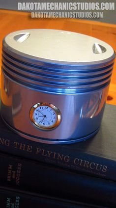 Authentic Ford Tri-Motor / T-6 Pratt & Whitney R-1340 Airplane Piston Clock | eBay