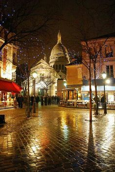 Lights of Montmartre, Paris. There are so many beautiful places to see in Paris Montmartre Paris, Places Around The World, Oh The Places You'll Go, Places To Travel, Around The Worlds, Beautiful Paris, Beautiful World, I Love Paris, Paris Travel