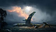 Apocalypse World, Impressive Image, Post Apocalyptic, Deep Sea, Thought Provoking, New Art, Trail, Old Things, Clouds