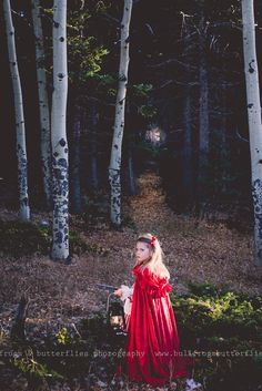 Stylized Photography, Storybook Session, Little Red Riding Hood, Well Dressed…
