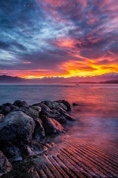 New Zealand Travel Inspiration - ˚Sunset at Kaikoura - New Zealand