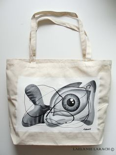 Canvas Tote Bags - grocery / market tote bags - no paper or plastic