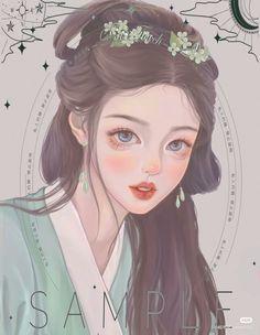 Girly Drawings, Anime Girl Drawings, Anime Art Girl, Manga Art, Anime Manga, Pretty Anime Girl, Beautiful Anime Girl, Anime Fantasy, Fantasy Art