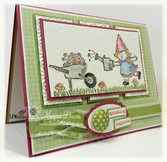 Gnome Sweet Gnome, Stampin' Up!, Hand made Card, DS47