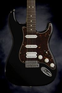 Fender Deluxe Lone Star Strat (Black)