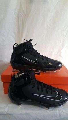 473e5f0a50c0 Nike Baseball Cleats Black Alpha Huarache Elite US 8