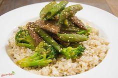 Kurzgebratenes Rindfleisch mit grünem Gemüse, ein leckeres Rezept aus der Kategorie Rind. Bewertungen: 17. Durchschnitt: Ø 4,4.
