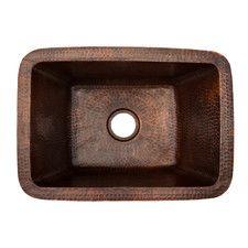 Rectangle Copper Bar Sink W/ Drain Size - Handmade Artisan Copper Kitchen & B.Rectangle Copper Bar Sink W/ Drain Size - Handmade Artisan Copper Kitchen & Bath