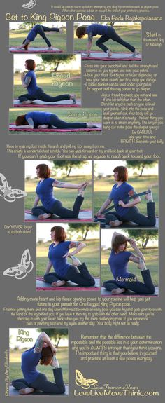 Get to King Pigeon Pose. yoga #yoga #asana