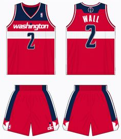 131cc7342 Washington Wizards Road Uniform 2012-2014 Washington Wizards