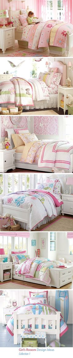 Girl's Room Bedding Collection