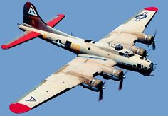 Boeing B-17 bomber. The classic American bomber, mainstay of the Mighty Eighth Air Force that pounded Germany from English bases.