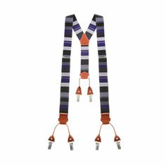 #TheArtOfGallo | Bretella elasticizzata a righe Gallo #fashion #stripes #multicolor