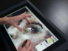 Cintiq 22HD touch Pen Display | Wacom