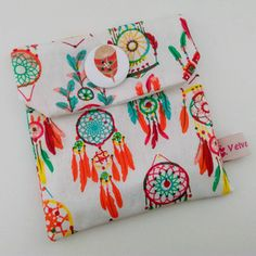 """Pochette cadeau """"dreamcatcher"""" 12 x 12 cm"""