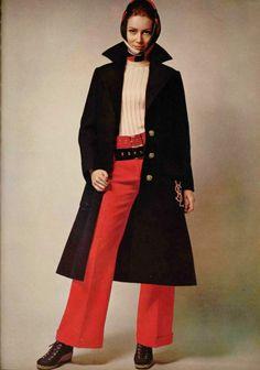 Saint-Laurent L'Officiel Magazine 1968