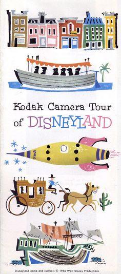 All sizes | 1956 Kodak Camera Tour of Disneyland - cover | Flickr - Photo Sharing!