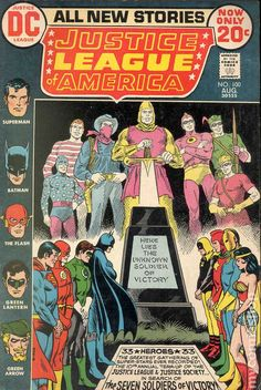 Justice League of America (1960 1st Series) 100