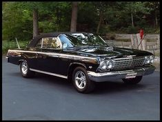 1962 Chevrolet Impala SS Convertible 572/620 HP, 4-Speed presented as lot K149 at Kissimmee, FL 2013 - image1