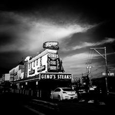 @genossteaks . . . . #philly #philadelphia #genos #passyunk #city #citylife #food #cityscape #urban #cityphotography #streetphotography #visitphilly #bw #blackandwhite #blackandwhitephotography #agameoftones #shoot2kill #sky #clouds #dark #shadows #olympus #camera #photo #instagood #instadaily #igers_philly