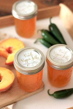 Peach Pepper Jelly Recipe