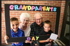 Happy Grandparents Day More More Happy Gra. , Happy Grandparents Day More More Happy Gra. Happy Grandparents Day More Grandparents Day Preschool, Happy Grandparents Day, Happy Mothers, Preschool Classroom, In Kindergarten, Preschool Activities, Classroom Ideas, Grands Parents, School Events