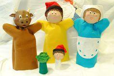 TItelles d'en Patufet Puppet Show For Kids, Elf On The Shelf, Puppets, Art For Kids, Dolls, Holiday Decor, Handmade, Toe, Home