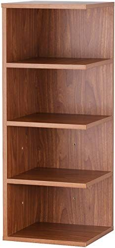 New Asense 32 Inch Reader S Stand 4 Shelf Bookcase Brown Online Shopping In 2020 4 Shelf Bookcase Shelves Bookcase