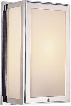 MERCER BOX LIGHT SCONCE for master bath ceiling