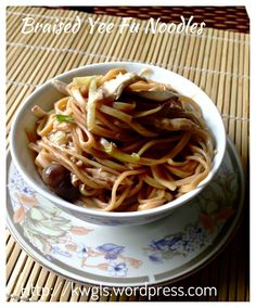 Shredded Chicken Braised E-Fu Noodles (鸡丝韭黄伊府面)  #guaishushu #kenneth_goh  #E-fu_noodles  #伊府面