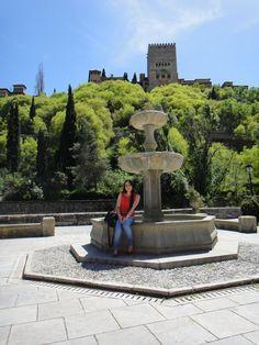 Granada - Monumental vista de La Alhambra