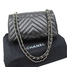 Chanel Shoulder Crossbody 36068 Silver zipper Black Bags  http://fashionbagarea.blogspot.com/  #chanel #handbags #bags #fashion women chnael 2015 bags are under $159
