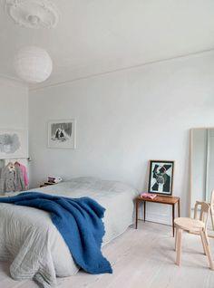 Luftig lejlighed med højt til loftet og plads til kunst - Boligliv