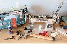 Palindrome Dry Goods: How to Restore a Vintage Sewing Machine