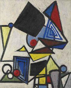 Lee Krasner (1908-1984)   Untitled   1940s, Paintings   Christie's
