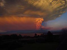 Erupção (Foto: Pedro Cubillos / reprodução)