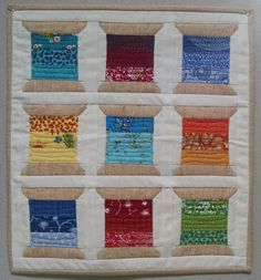 Mini Spools Mini Quilt - Notions - The Connecting Threads ...