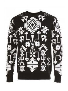 MARCELO BURLON Marcelo Burlon - County Of Milan Wool Jumper. #marceloburlon #cloth #sweaters