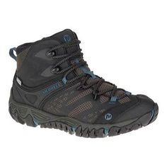 Women's Merrell All Out Blaze Vent Mid Waterproof Hiking Boot Black by  Merrell