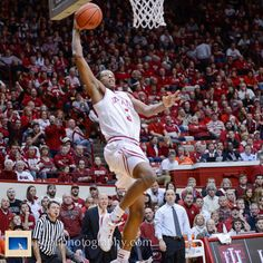 Troy Williams at Indiana's 56-46 win over Illinois on Sunday at Assembly Hall    #IUCollegeBasketball