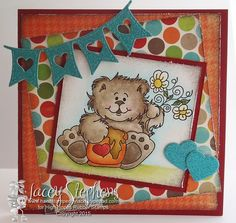 Favorite Honey Bear from High Hopes Rubber Stamps. More details on my blog...http://handstampedbylacey.typepad.com/my_weblog/2015/02/high-hopes-challenge-anything-high-hopes.html