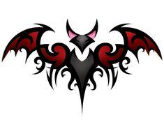 Bat Tattoo Color by ~RagDollMurderer