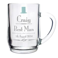Check this out!! The Kitchen Gift Company have some great deals on Kitchen Gadgets & Gifts Personalised Wedding Beer Tankard - Decorative Design #kitchengiftco