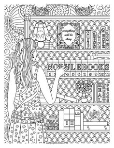 Printed Pages Adult Coloring Books A3 Grief Mermaid Diys Healing Colouring In Paint Mandalas Interiors White People