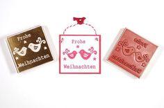 Deko und Accessoires für Weihnachten: Stempel Frohe Weihnachten made by Inalbo via DaWanda.com