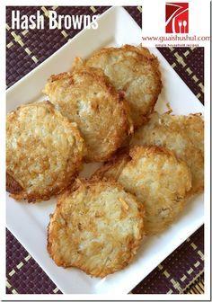 Classic Hash Browns (煎薯丝饼)    #guaishushu #kenneth_goh    #hash_browns