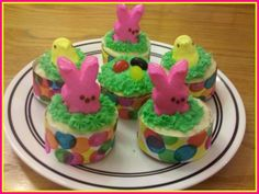 Celebrate Easter with festive cupcakes!