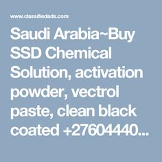 41 Best ssd chemical solutions images in 2017   Face powder, Powder